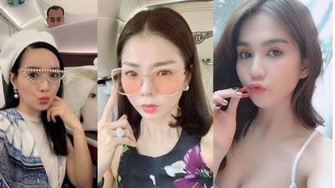 Người đẹp Việt quên tuổi thật, ngây thơ khoe nhan sắc