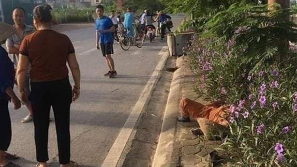 Nghi taxi tông tử vong nữ lao công: Lời người chứng kiến
