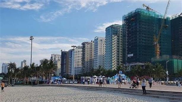 Lo ngại nhà cao tầng phá môi trường biển Đà Nẵng
