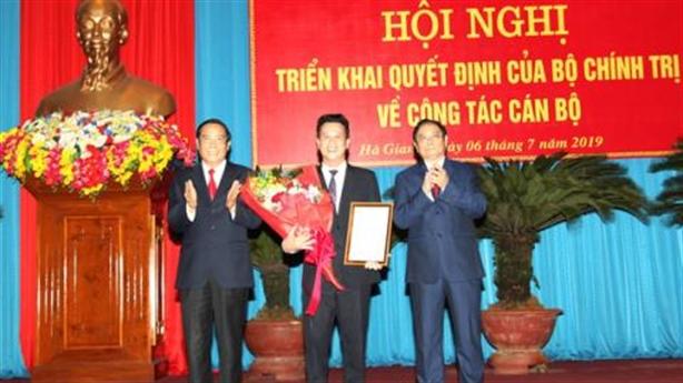 Tân Bí thư Tỉnh ủy Hà Giang hứa sẽ làm hết mình