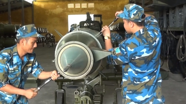 Cách Việt Nam bảo quản đạn tên lửa phòng không