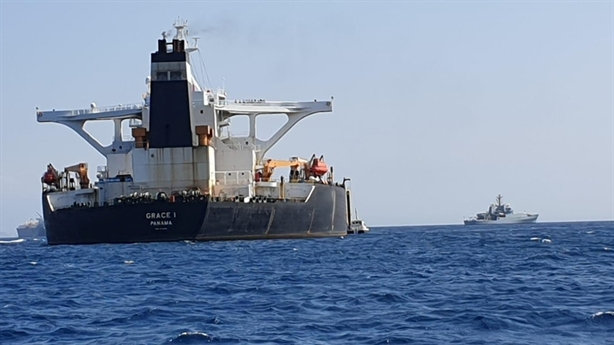 Siêu tàu chở dầu Anh bắt giữ không phải tàu đến Syria?