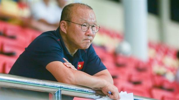 Ông Park dừng đàm phán hợp đồng: Tình yêu quá lớn