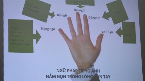 Có thể học ngữ pháp tiếng Anh trong 1 buổi: Không dễ...