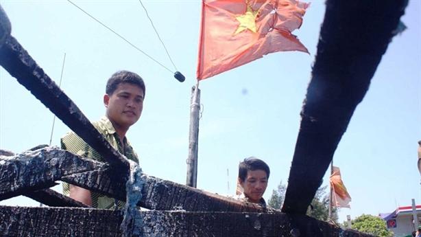 Người cứu ngư dân Trung Quốc từng bị bắn cháy tàu