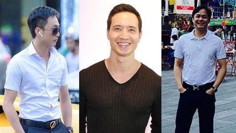 Lộ điều ba người đàn ông của Hà Hồ quá giống nhau