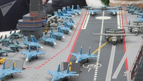 Nga mơ xa chế tạo siêu tàu sân bay hạt nhân khủng