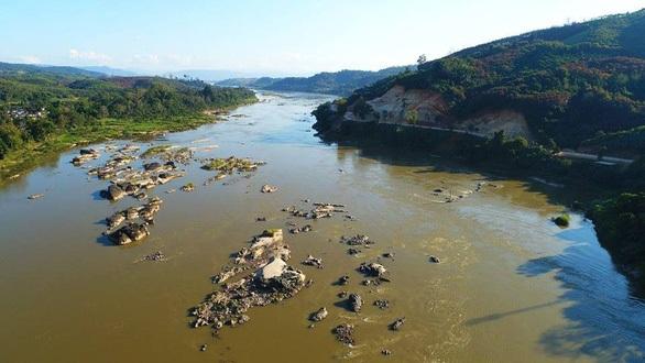 Mực nước sông Mekong tại Thái Lan thấp kỷ lục