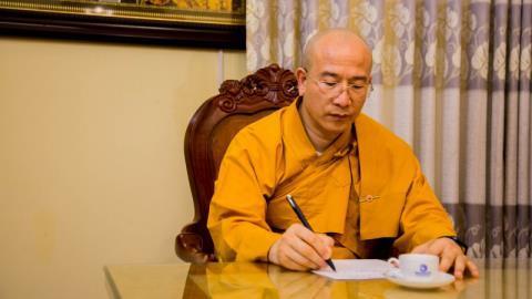 Vì sao thầy Thái Minh vẫn làm trụ trì chùa Ba Vàng?