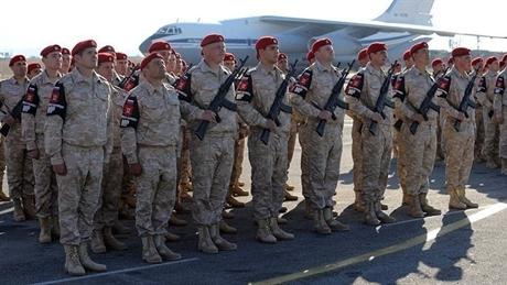 Nga rút lực lượng quân cảnh khỏi Syria