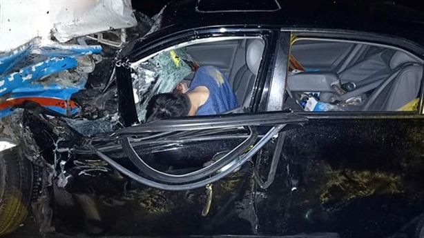 Chủ tịch lái ôtô va chạm xe công nhân: Lời nhân chứng