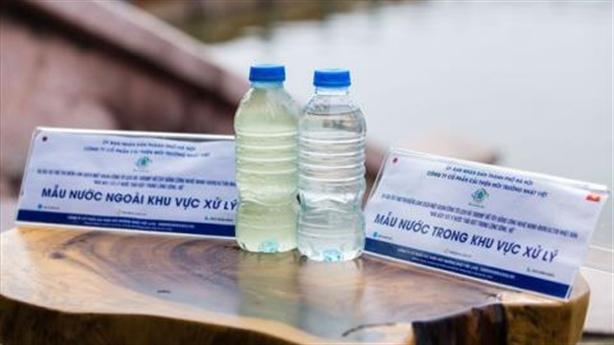Công nghệ Nhật ở Hồ Tây được 25 năm: Còn nước thải?