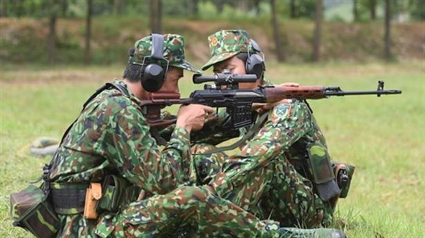 Đội bắn tỉa Việt Nam dự thi tại Army Games 2019