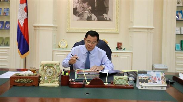 Thủ tướng Hun Sen bác tin Trung Quốc thuê cảng hải quân