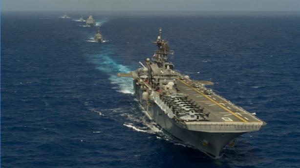 Mỹ thử nghiệm xong tàu đổ bộ mạnh hơn tàu sân bay