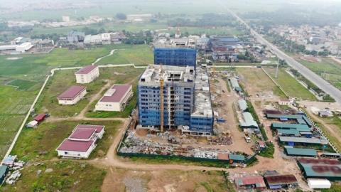 Vĩnh Phúc xây Bệnh viện Sản Nhi giữa cụm công nghiệp