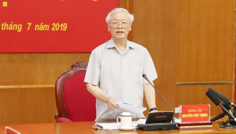 Tổng Bí thư Nguyễn Phú Trọng yêu cầu theo dõi vụ SARGI