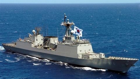 Iran giật mình khi chiến hạm cực mạnh Hàn Quốc vào cuộc?