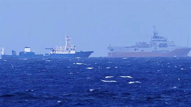 Tàu Hải Dương 8 cản trở ngư dân Việt Nam