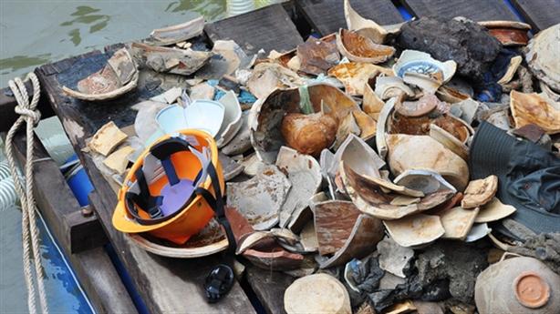 48 tỷ đồng khai quật tàu cổ chỉ thu về mảnh vỡ