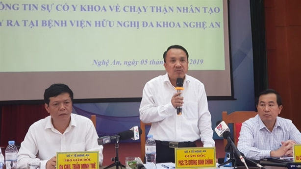 Sốc chạy thận tại Nghệ An: Hệ thống dẫn nước nhiễm khuẩn