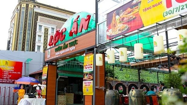 Lộc Ấn khai trương thêm vườn ẩm thực mới tại quận 7