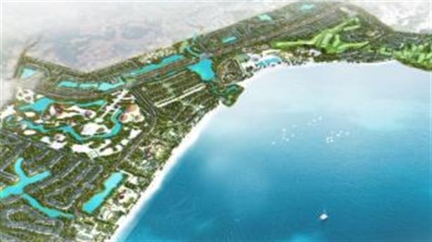 Nhộn nhịp công trường xây dựng đại dự án FLC Quảng Ngãi