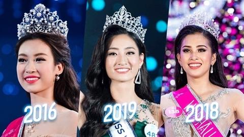 Công thức thành hoa hậu Việt: Trái chiều nhưng dễ đoán