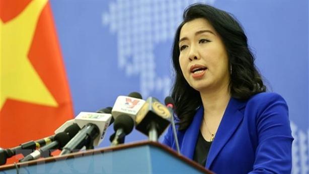 Phản đối Trung Quốc huấn luyện quân sự ở Hoàng Sa