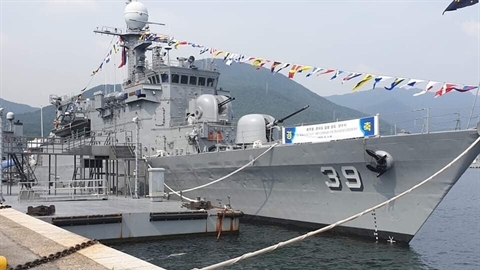 Hải quân Philippines nhận tàu Pohang sau 2 năm chờ đợi