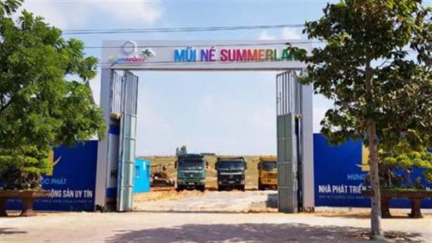 Bình Thuận yêu cầu dừng huy động vốn tại Mũi Né SummerLand
