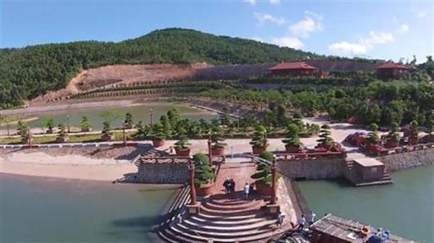 Loạt đại gia xẻ đảo huyện Vân Đồn xây dựng trái phép