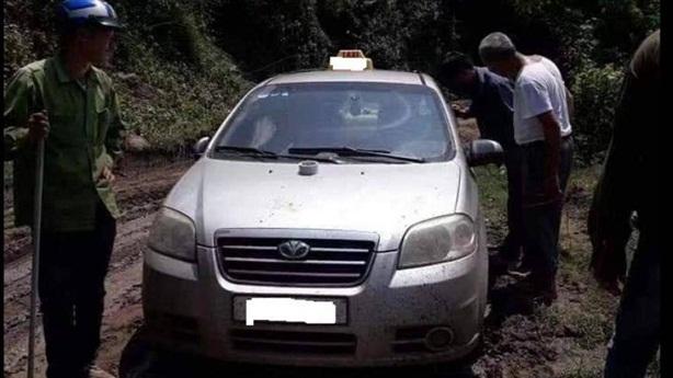 Nghi 3 người TQ sát hại, cướp taxi rồi phi tang xác