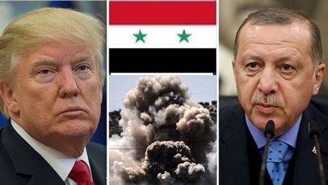 Mỹ-Thổ bắt tay, chia chác 40% lãnh thổ Syria