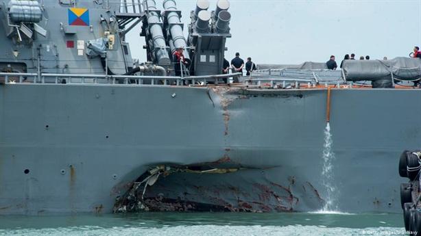 Mỹ nói thật nguyên nhân tàu Arleigh Burke bị ��âm