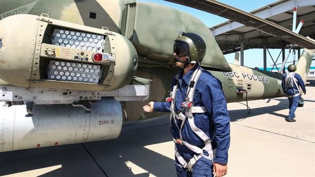 Mi-28NM sở hữu đòn tấn công kép có 1 không 2