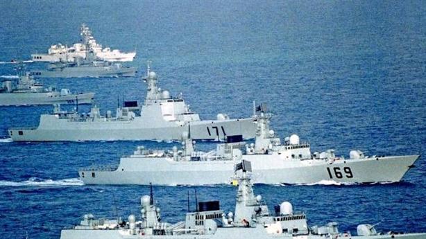 Hạm đội Trung Quốc đến Vịnh Ba Tư với mục đích gì?