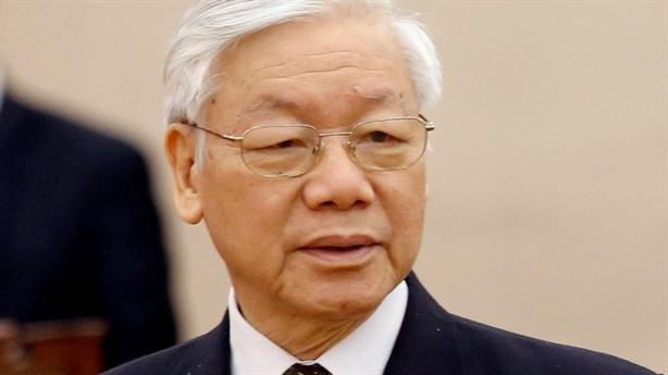 Tổng Bí thư Nguyễn Phú Trọng điện mừng Tổng thống Mozambique