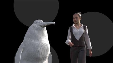 Phát hiện loài chim cánh cụt khổng lồ to ngang người