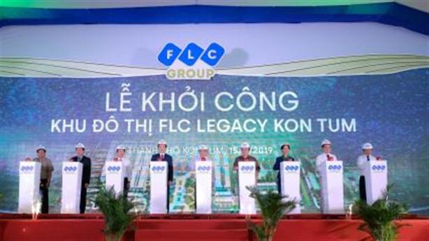 Chính thức khởi công FLC Legacy Kon Tum