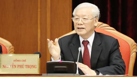 Tổng Bí thư Nguyễn Phú Trọng chủ trì họp Ban Bí thư