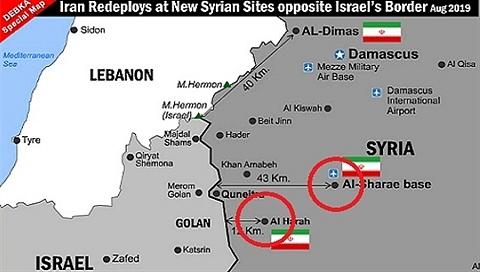 Israel lo lắng Nga mở toang cao nguyên Golan cho Iran-Hezbollah