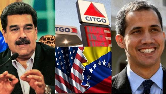 Mỹ 'cướp' tiền của Venezuela giúp Guaido lật đổ Maduro