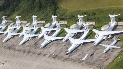 Tiếc đứt ruột dàn A-50 AWACS bị bỏ quên của Nga