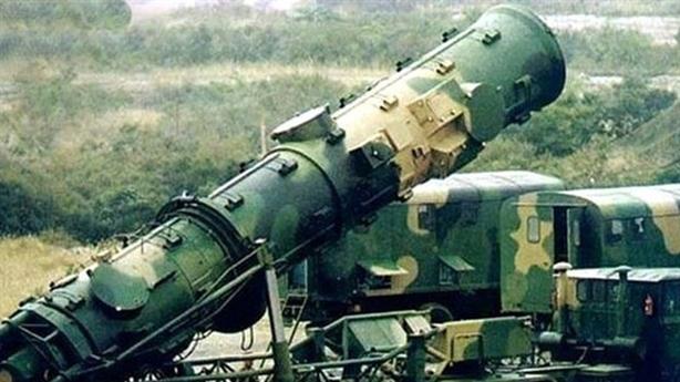 Tên lửa đạn đạo Trung Quốc gần biên giới Nga