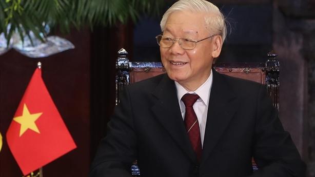 Tổng Bí thư Nguyễn Phú Trọng mừng Quốc khánh Hungaria