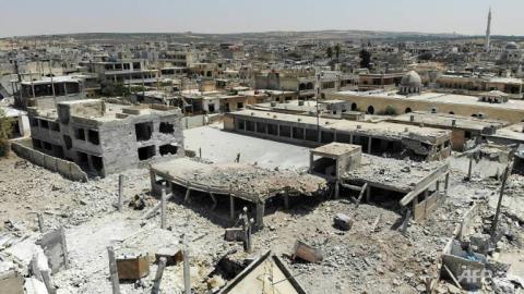 Nóng: SAA giải phóng hoàn toàn Khan Sheikhun, Thổ lộ mặt