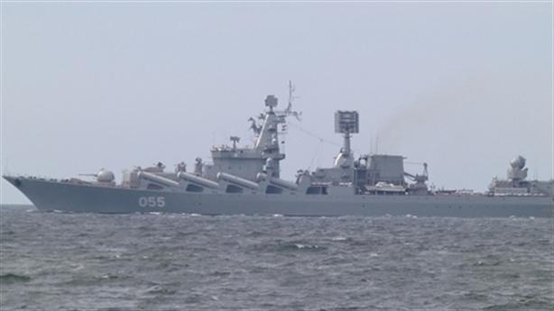Nga bất ngờ điều tuần dương hạm Marshal Ustinov đến Syria
