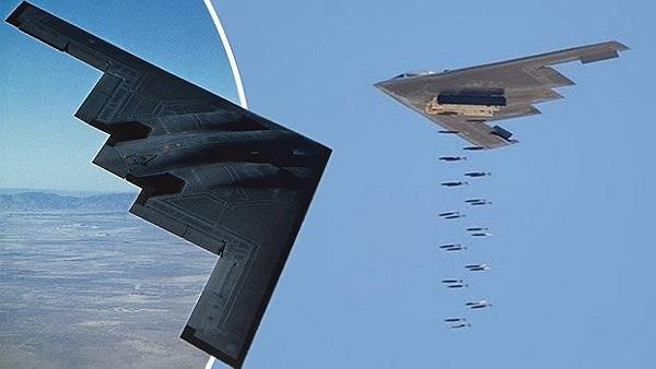 B-2 Spirit vừa bị radar bắt hiện nguyên hình