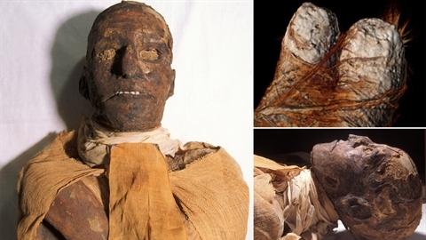 Chụp CT xác ướp Pharaoh, phát hiện bí mật chấn động